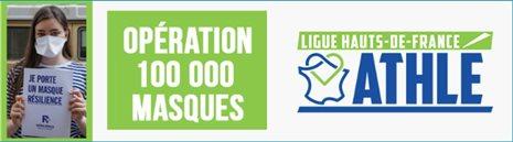 L'athlétisme des Hauts-de-France mobilisé, solidaire :